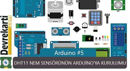 Dht11 Nem Sensorunun Arduino'ya Kurulumu